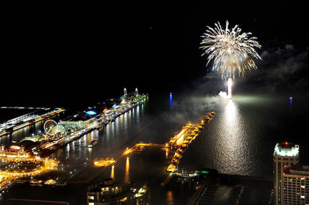 New Year's Eve at Navy Pier