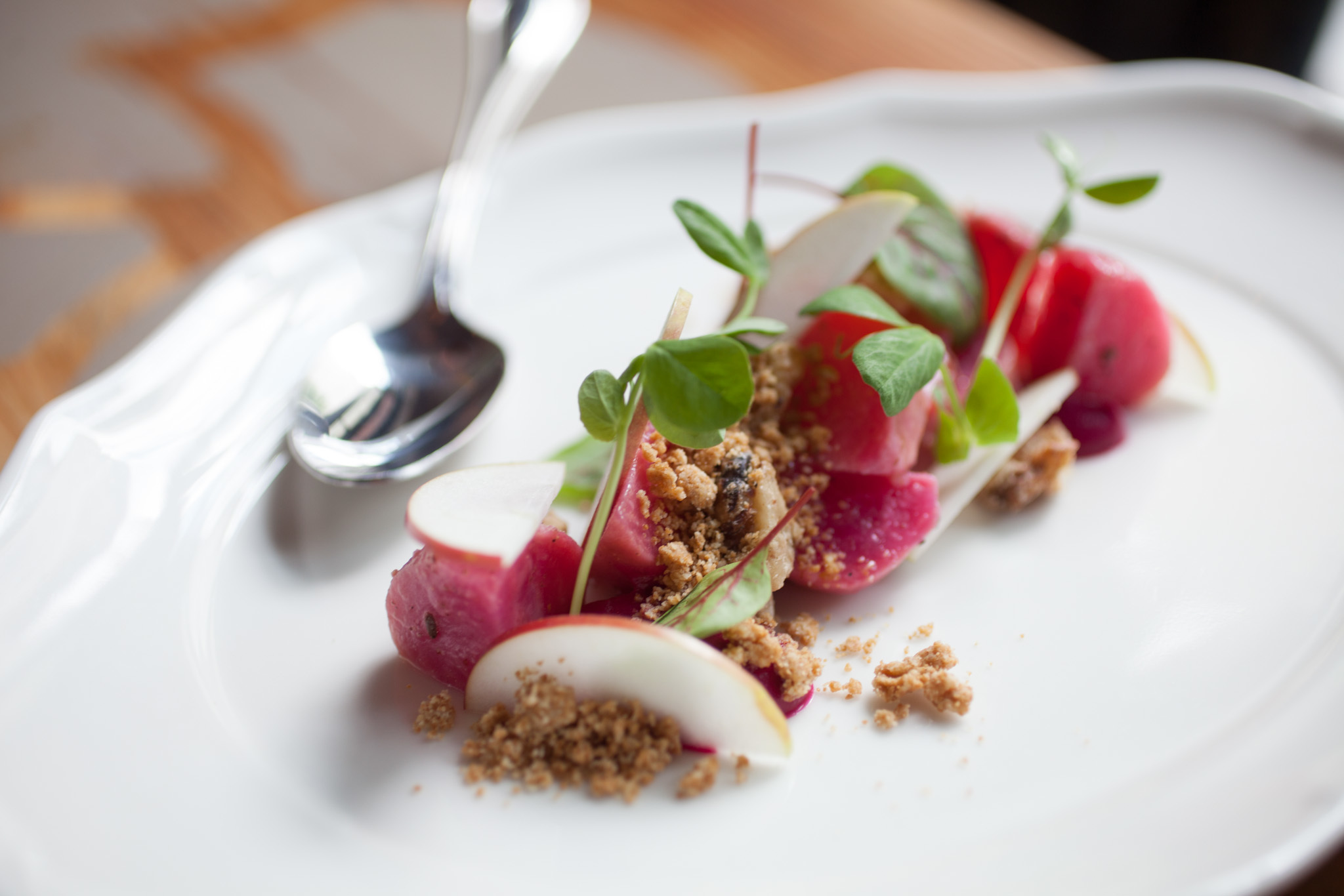 Slow-roasted beets at Bohemian House