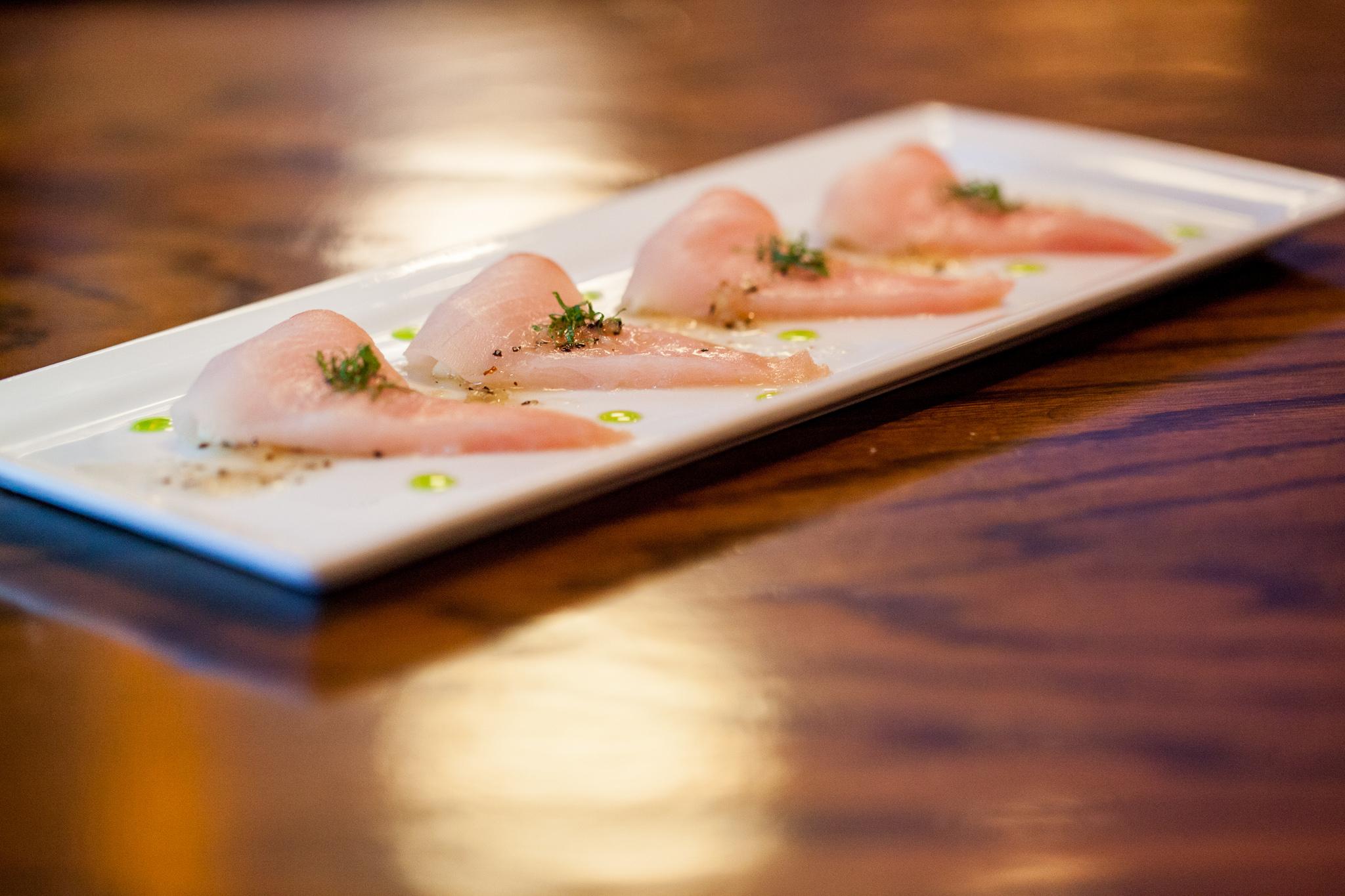 Yellowtail new style sashimi - Shaw's