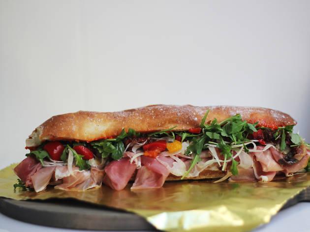 Alidoro sandwich at Alidoro