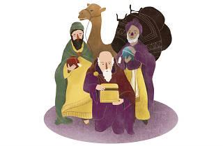 Los Reyes Magos aparecen en el MUTEC