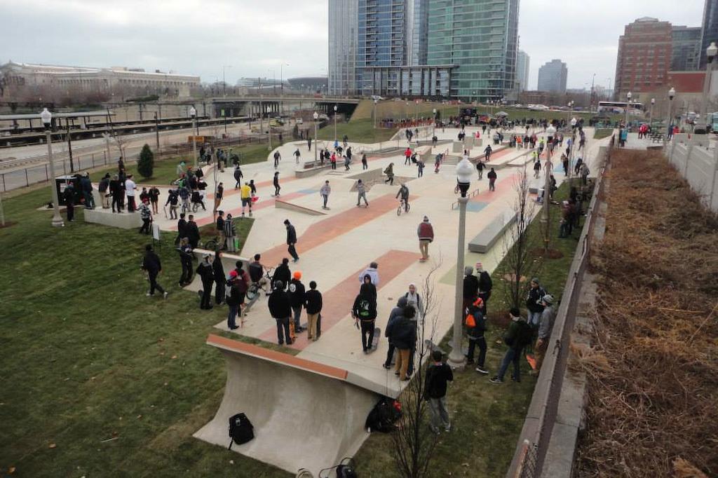 Grant Park Skate Plaza