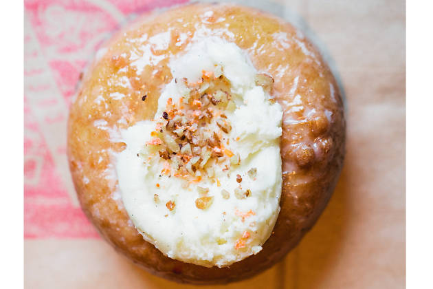 Carrot cake doughnut at Do-Rite Donuts