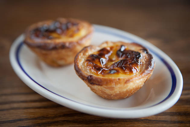 Portuguese egg tarts at Fat Rice