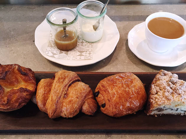 Assorted pastry abbondanza at Nico Osteria