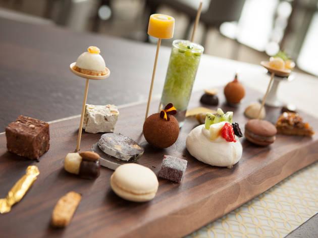 Desserts at Spiaggia