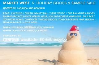 Market West Holiday Goods & Sample Sale