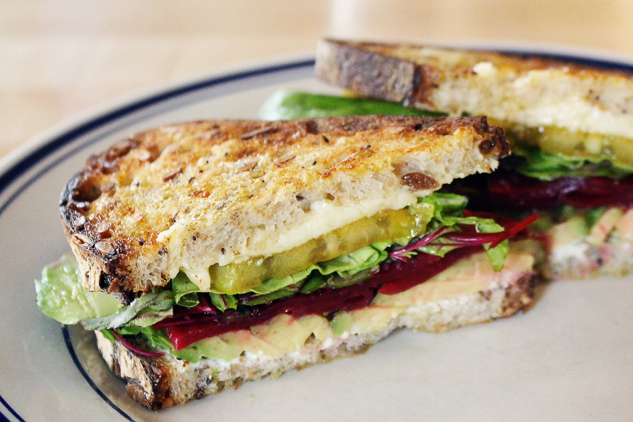 BEET L.A.T. at Publican Quality Meats We didn't expect a vegetarian sandwich to be a standout at Publican Quality Meats, but nothing should be a surprise where Paul Kahan is concerned. There are beets, of course, along with lettuce and avocado, but it's