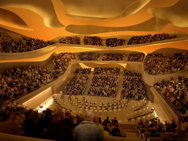 Philharmonie : la Grande Salle (© Philharmonie de Paris )