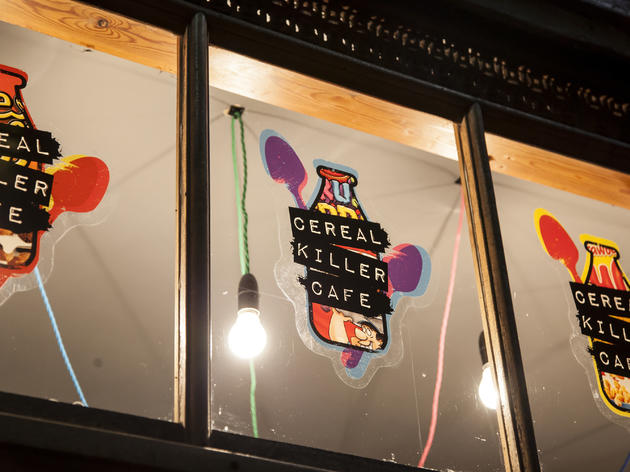 Eat a double rainbow at Cereal Killer Cafe