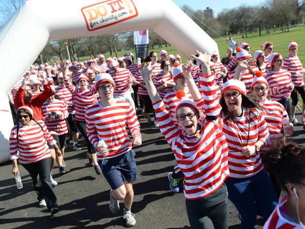Where's Wally Fun Run