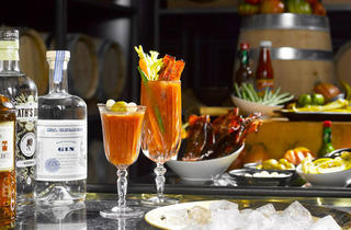 Manhattan - Bloody Mary bar