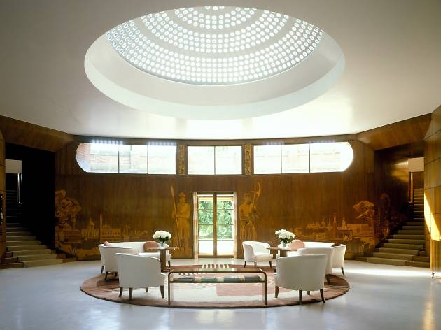 Eltham Palace's entrance Hall