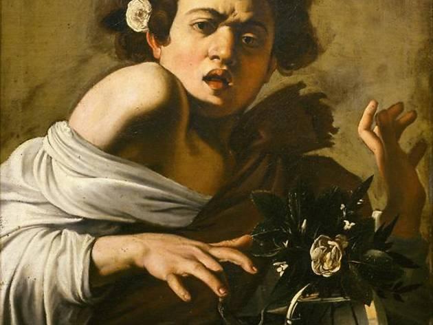 (Caravage, 'Garçon mordu par un lézard', 1594 / © Firenze, Fondazione di Studi di Storia dell'Arte Roberto Longhi)