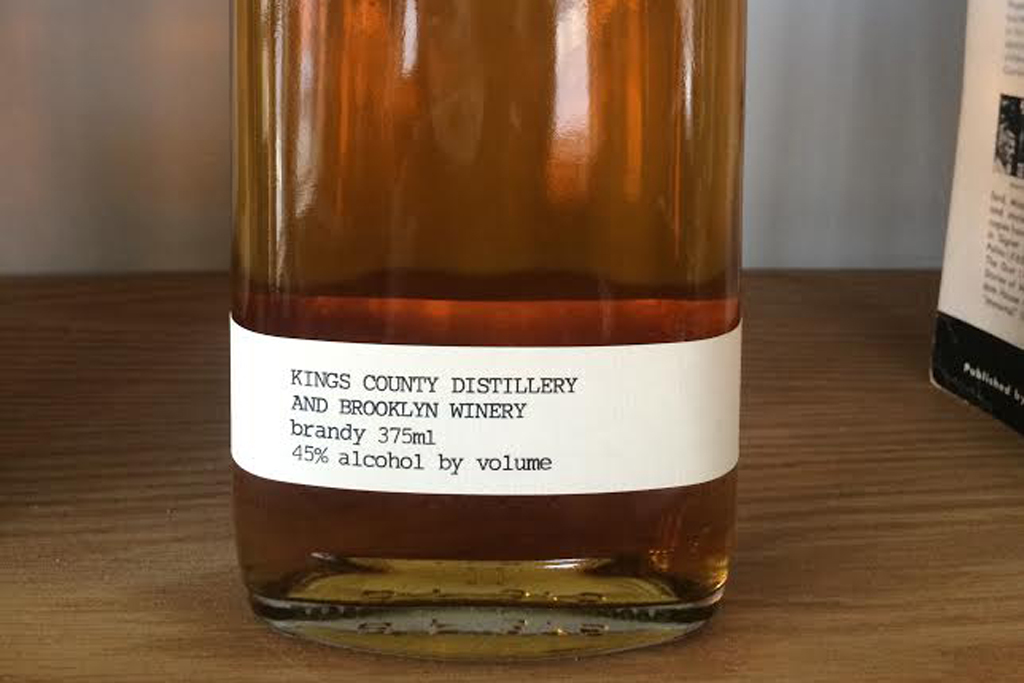 Kings County Distillery and Brooklyn Winery Brandy