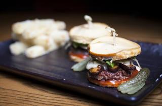 Matsuhisa sliders at Nobu Los Angeles