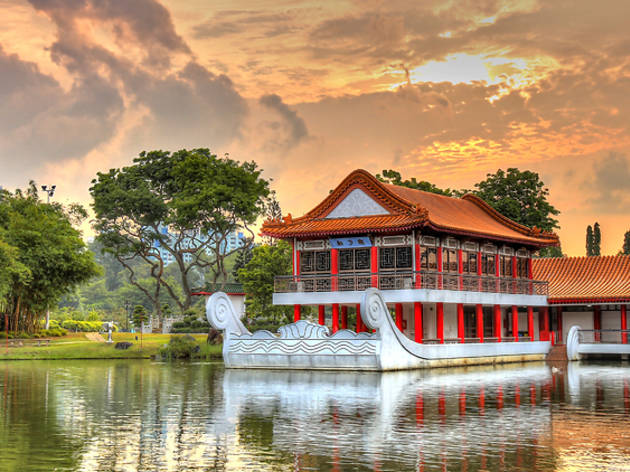 My paper singapore chinese garden