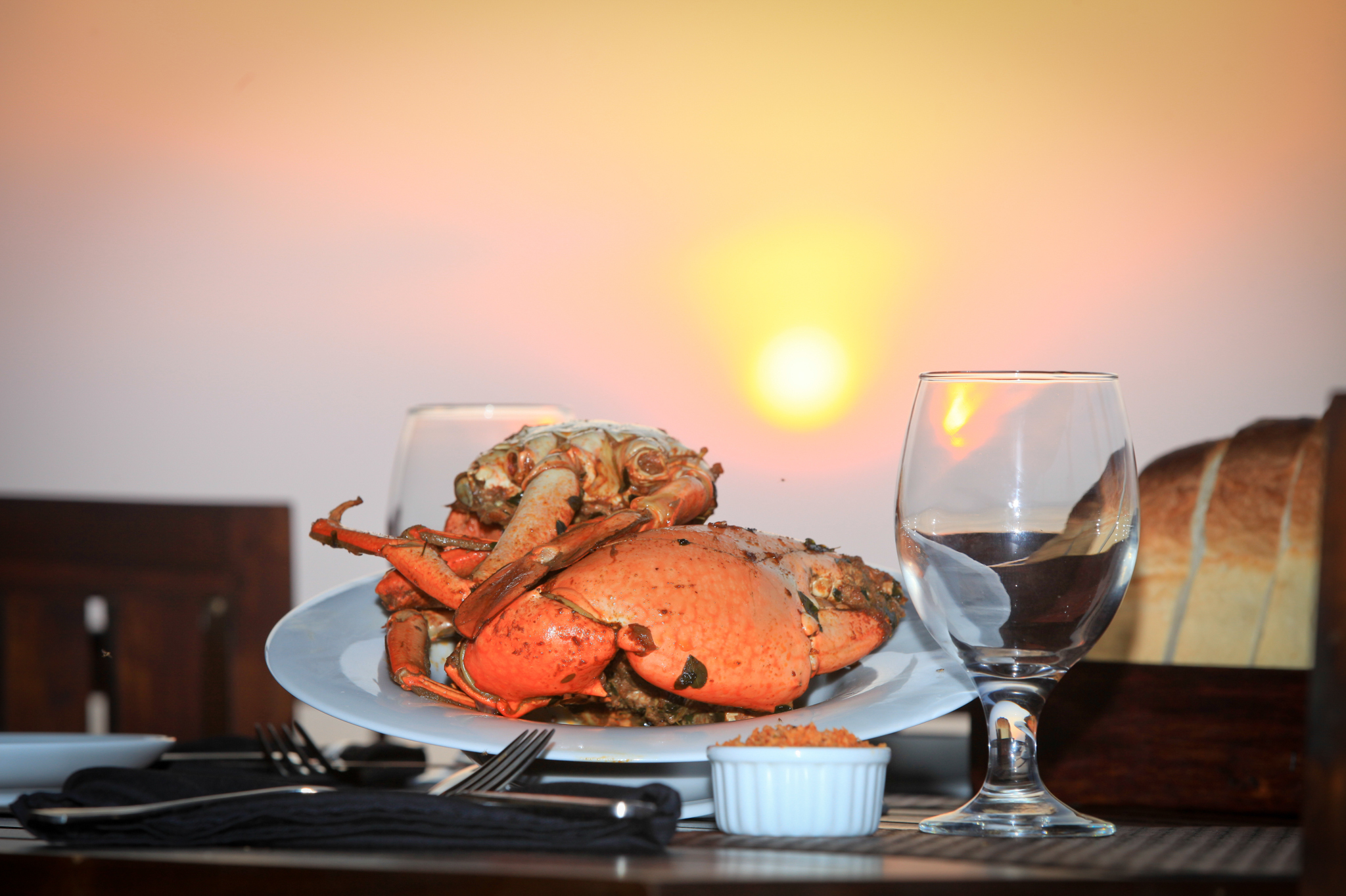 The Fat Crab is a seafood restaurant in Colombo