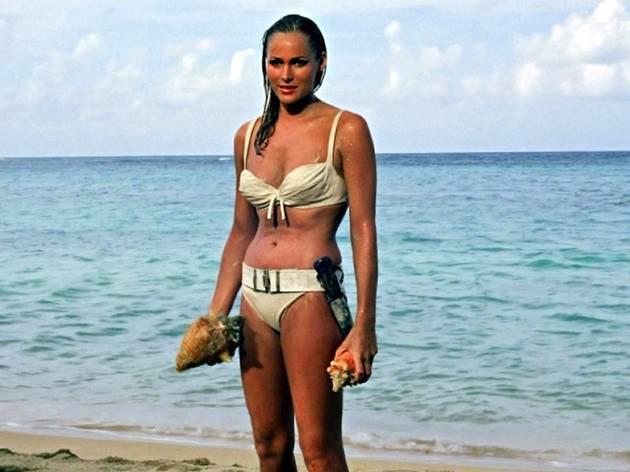 <p>Honey Ryder (Ursula Andress), dans 'James Bond contre docteur No'</p>