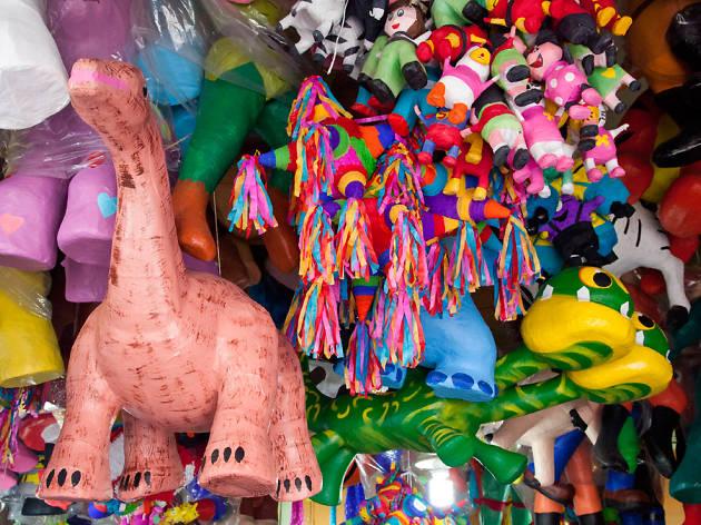Concurso de piñatas mexicanas