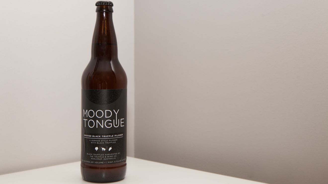 Is the $120 Moody Tongue black truffle beer worth it?