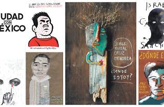 Ilustradores con Ayotzinapa