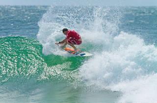 Surfing is an adventure sport in Sri Lanka