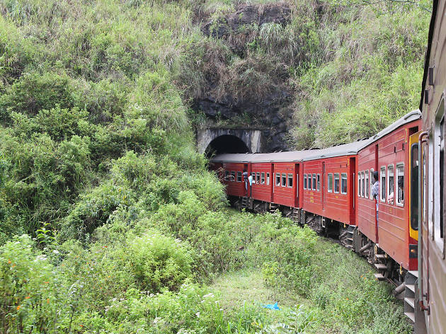 Train Journey from Colombo to Badulla via Kandy in Sri Lanka
