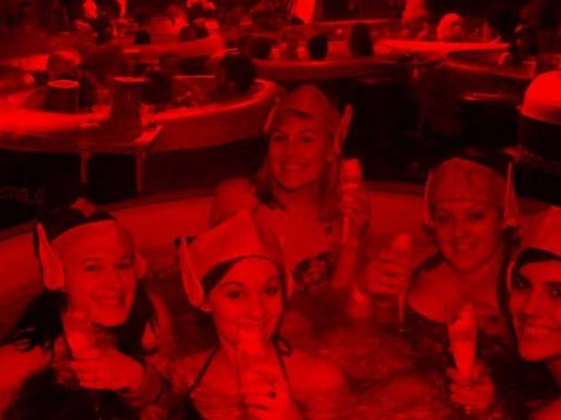 Closed: win tickets to Hot Tub Cinema's 'Bad Santa' party