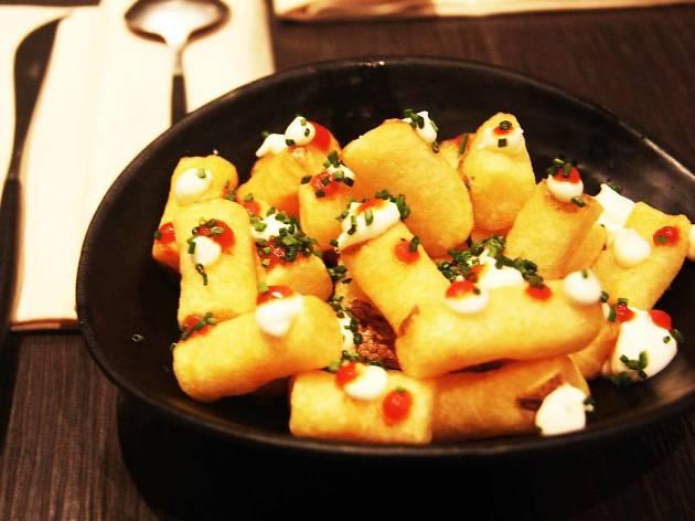 Patatas bravas de Le Cabrera