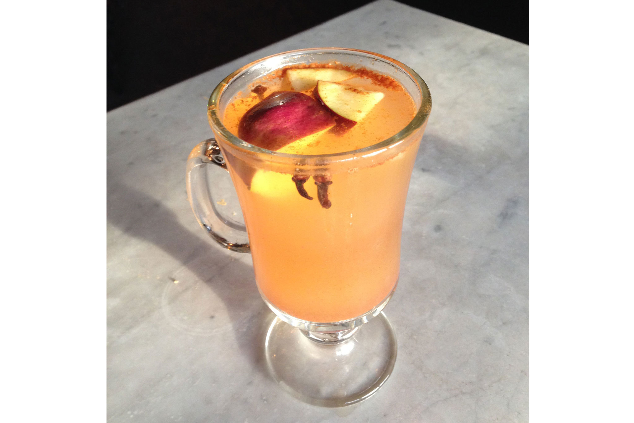 Spiced Cider at Thirsty Crow