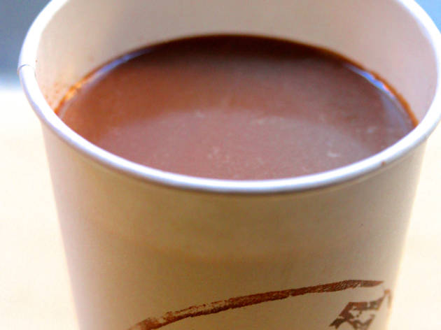 Hot chocolate from Choza Taqueria