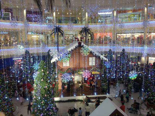A Christmas Encounter at The Curve