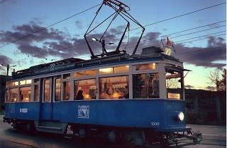 Themed tram restaurant tour in Zurich