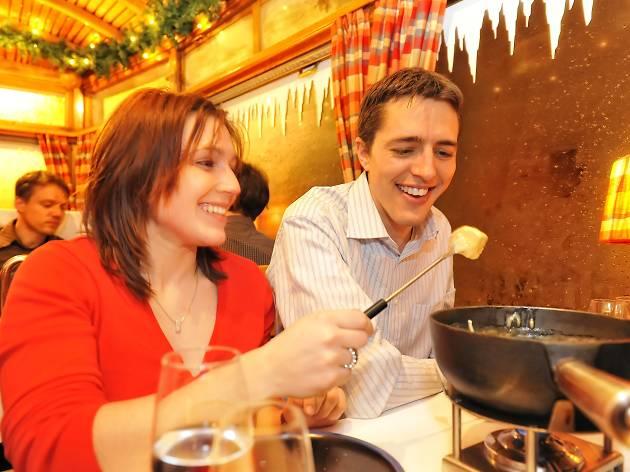 Where to eat fondue in Switzerland
