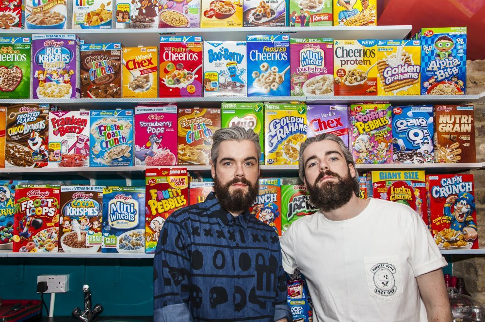 Cereal Killer Cafe on Brick Lane
