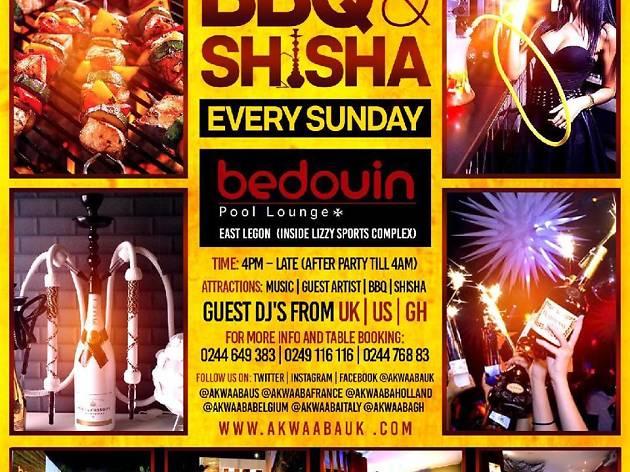 BBQ and Shisha at Bedouin Pool Lounge