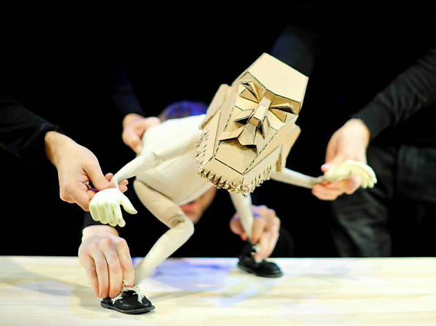 Chicago International Puppet Theater Festival: Blind Summit's 'The Table'