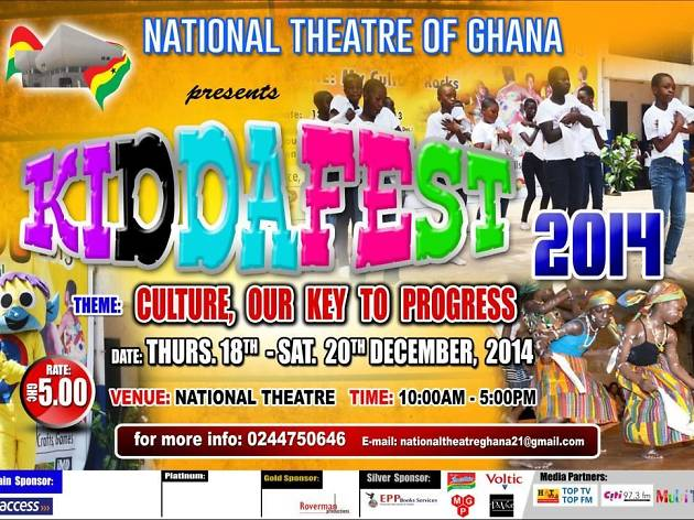 Kiddafest at National Theatre, Accra, Ghana