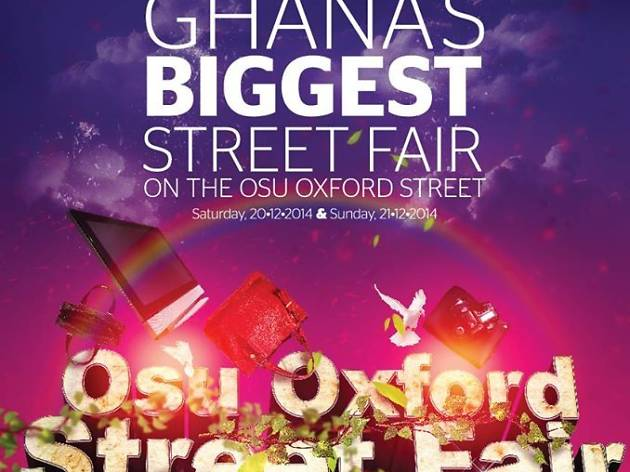 Oxford Street International Fair, Osu, Accra, Ghana