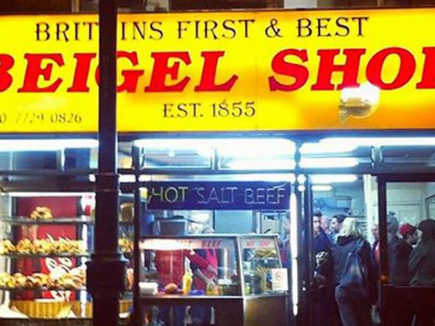 May: Beigel Shop closes