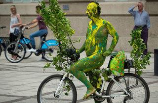 June: Naked Bike Ride