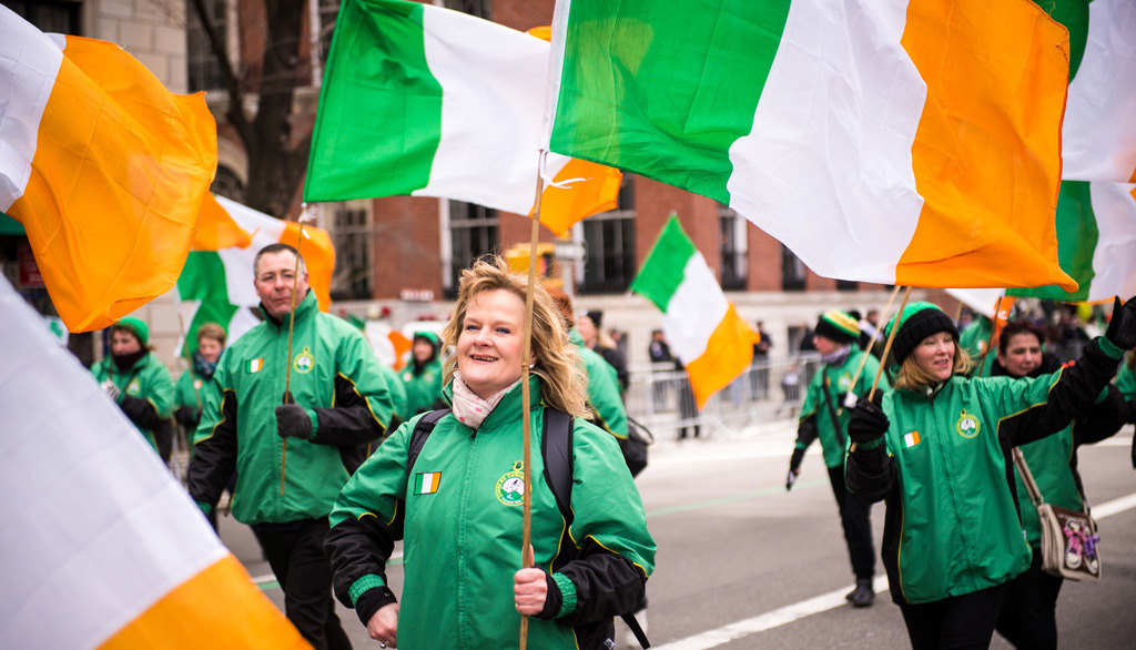 guide to the st patrick s day parade nyc with a route map