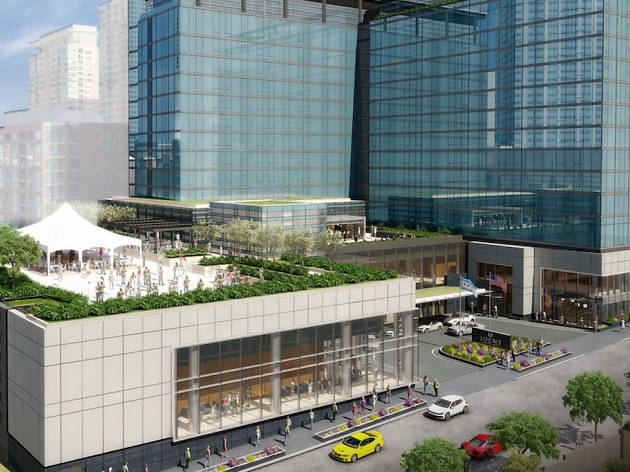 A rendering of Loews Hotel Chicago.