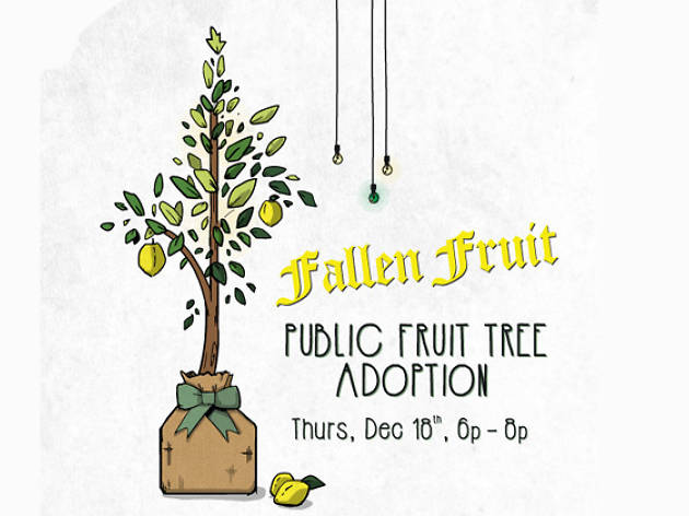 Fallen Fruit Public Fruit Tree Adoption