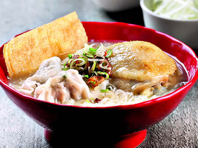 Sifu - Signature Roasted Chicken Thigh and Shrimp Dumpling Soup Noodles
