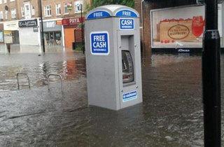 July: Hillingdon flood