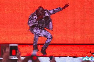 July: Kanye plays Wireless