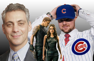 Rahm's reelection campaign, Jupiter Ascending and Jon Lester add to one epic year for Chicago in 2015.