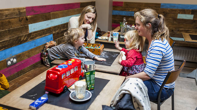 London's best cafés for kids